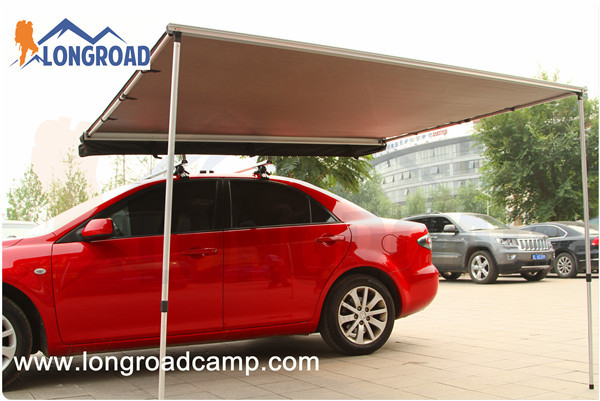 Waterproof Retractable Car Roof Top Tent Side Awning