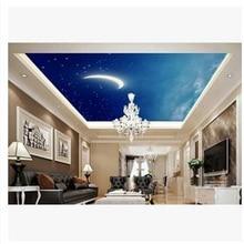 Custom size wallpaper 3d stereoscopic moon murals TV backdrop living room bedroom papel de parede 3d stereoscopic wallpaper цена 2017