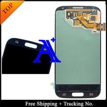 Free Shipping + Tracking No. 100% Orignal For Samsung Galaxy S4 i9500 i9505 i9506 i337 LCD Digitizer Assembly -Dark Blue/White