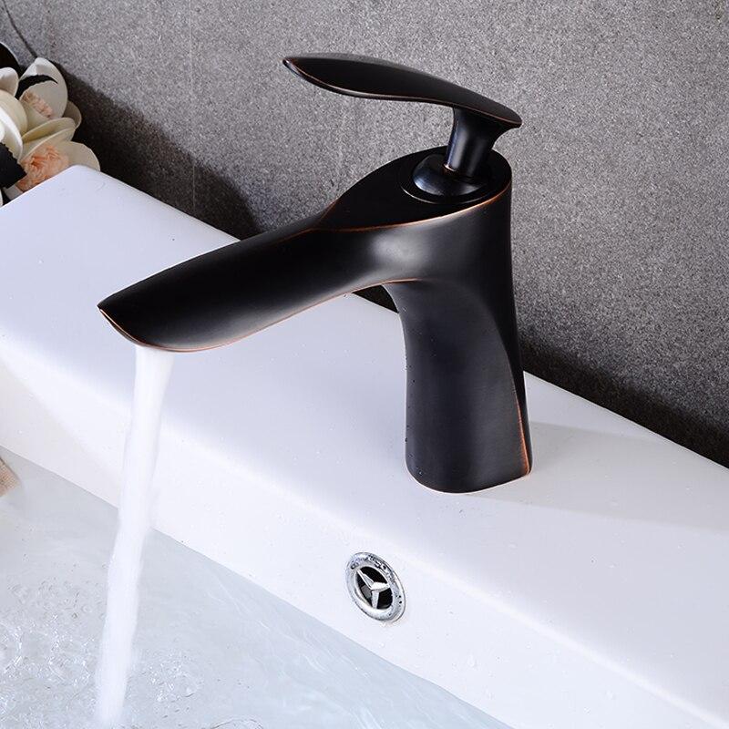 ORB robinets de bassin salle de bains robinet mitigeur de lavabo robinet de bain en laiton évier grue à eau
