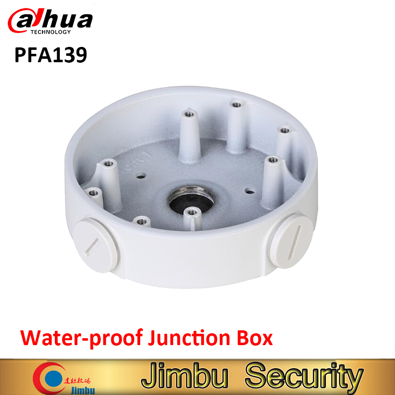 DAHUA PFA139 Water-proof Junction Box IP Camera Brackets CCTV Accessories PFA139 aluminum application dome hdcvi camera цены