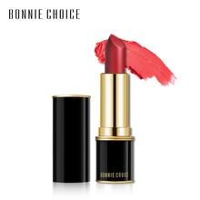 BONNIE CHOICE  8 Colors Matte Lipsticks Velvet Moisture Lip Stick Professional Make up Long Lasting Cosmetic Makeup