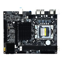2017 NEW Desktop Motherboard Computer Mainboard For X58 LGA 1366 DDR3 16GB Support ECC RAM Wholesale