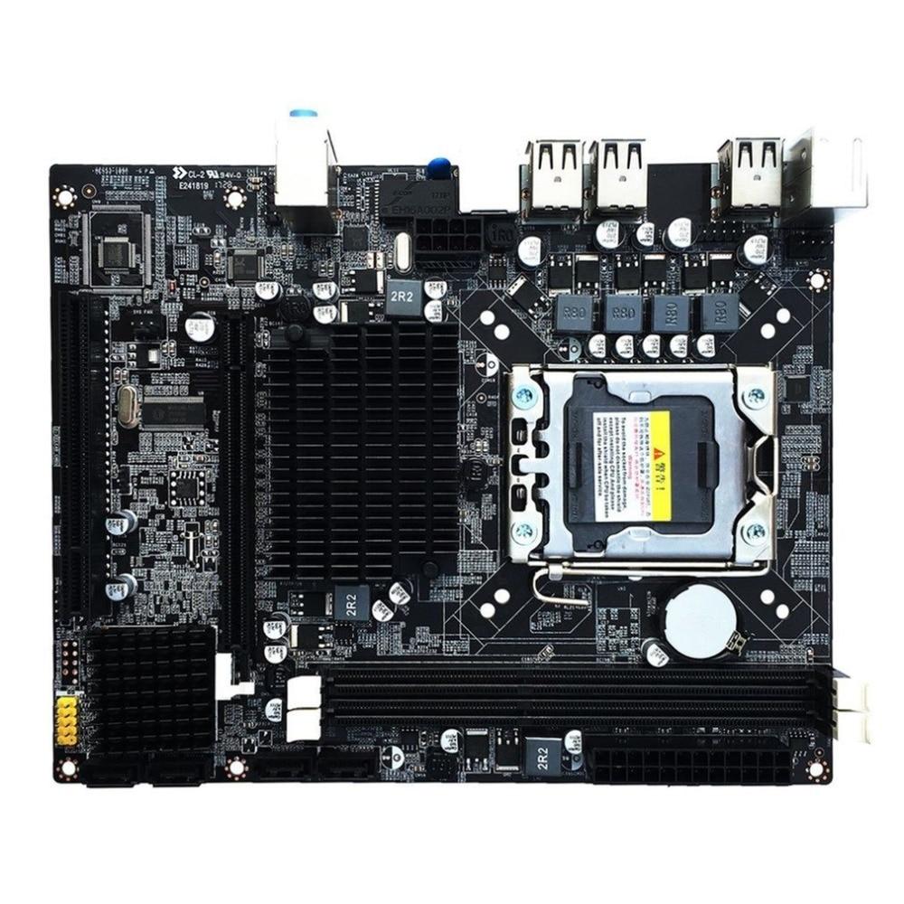 2017 Новый настольный материнская плата компьютерная плата для X58 LGA 1366 DDR3 16 ГБ Поддержка ECC Оперативная память оптовая продажа