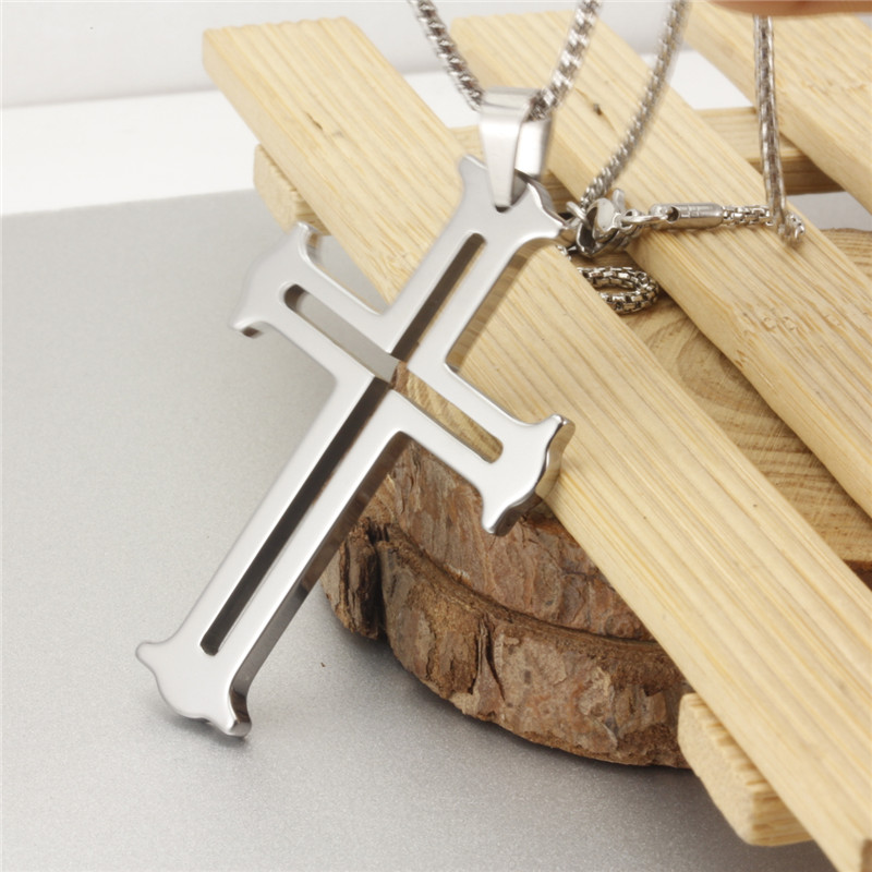 Meerose tungsten carbide pendant necklace chain hollow out tungsten meerose tungsten carbide pendant necklace chain hollow out tungsten cross pendant mrp009 in pendants from jewelry accessories on aliexpress alibaba aloadofball Image collections