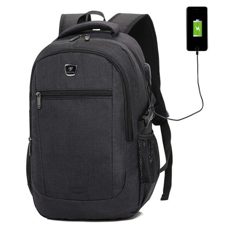 цена на USB Interface Backpack Man Backpacks Women Backpacks Large Capacity Laptop Bag School Bags Travel Bag Mochila