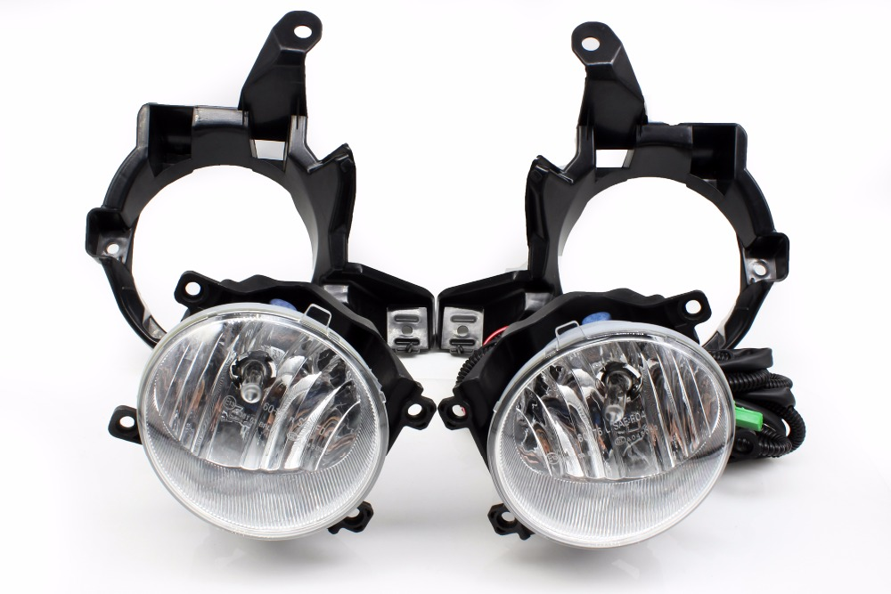 1 set Fog Lamp Assembly 1:1 Replacement for Toyota Rav 4 2013 2014 2015 include molding edging chrome and fog light 1 set left side driving lamp front fog light and fog lamp cover bezel assembly for mazda cx 5 2013 2015