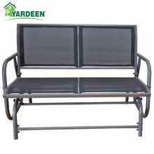 Yardeen Rocking Rattan Garden Chair Outdoor Patio Yard Furniture Wicker Chair with Cushion(China)