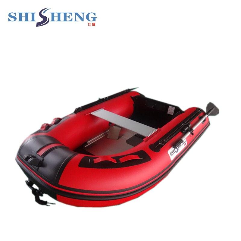 Petit voilier pas cher 2 personnes à vendre/bateau en caoutchouc gonflable/bateau en PVC 0.9mm - 3