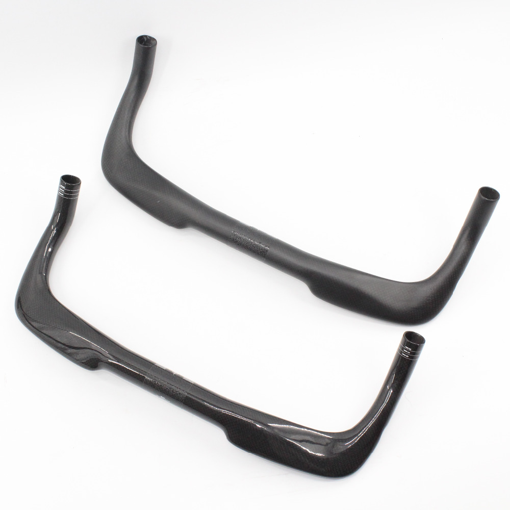 New Road bicycle 3K carbon rest handlebar TT style triathlon Time trial Fixed Gear bike handlebars 31.8*400-460mm Free shipping future brand from taiwan full carbon rest handlebar tt style handlebar one set 31 8 400 420 440 460mm 3k finish blue color