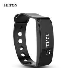 HLTON Smart Wristband Calories Anti lost Band Pedometer Sports Fitness Tracker Smart Bracelets SMS Call Remind
