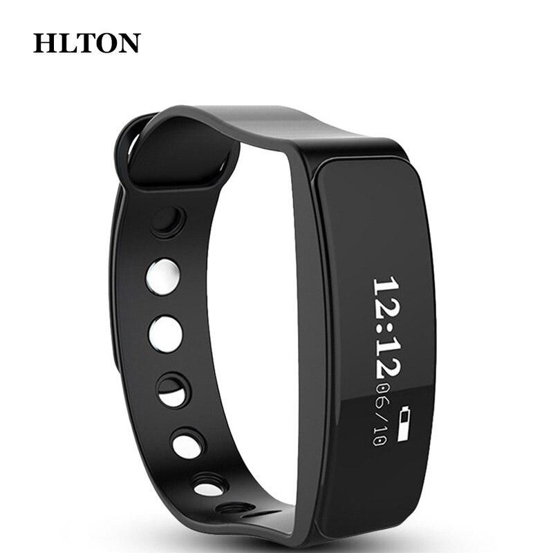 HLTON font b Smart b font font b Wristband b font Calories Anti lost Band Pedometer