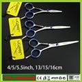 Профессиональные Парикмахерские ножницы 4 дюйма или 5 дюйма или 5.5 дюйма Высокого Качества Парикмахерская ножницы Ножницы парикмахерская инструменты