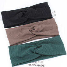 Women Girls Fashion Accessories Boutique Printed Stretch Headband Hair Accessories Bandana Designer Customized Accessories Code