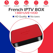 ipremium TVonline iptv Box 1 year French abonnement IPTV 1300 live full 4K smart tv box Belgium Arabic Spain iptv m3u free test 5pcs original ipremium tvonline android tv box smart iptv set top box receptor decoder tv receiver