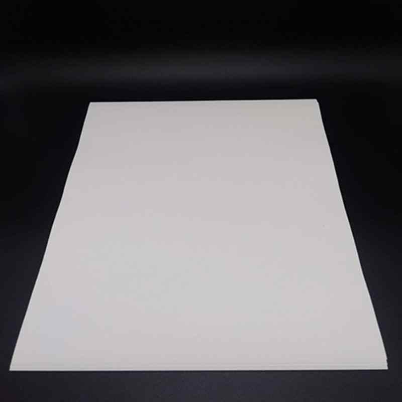 10 Uds. A4 papel de transferencia de calor para impresoras de inyección de tinta papel de Color claro tela Transferencia de camisetas impresiones de fotos #5