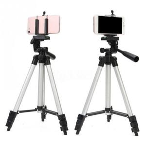 Image 5 - アルミプロフェッショナル伸縮カメラ三脚スタンドホルダーデジタルカメラビデオカメラiphone 4用三脚スマートフォン