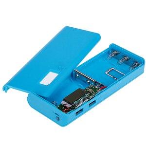 Image 3 - Rovtop 뜨거운 판매 5V 듀얼 USB 5x18650 전원 은행 배터리 상자 휴대 전화 충전기 DIY 쉘 케이스 iphone6 플러스 S6 xiaomi