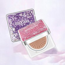 Star Drift Sand Air Cushion BB Frost Concealer Foundation Cream Brighten Skin Moisturizing