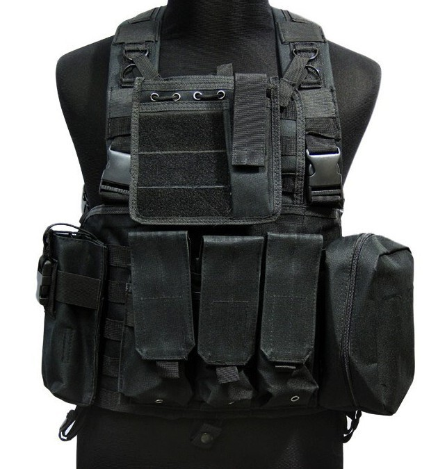 USMC Molle Assault Vest (Black) Tactical Vest CS Party Supplies Free  Shipping-in Party DIY Decorations from Home   Garden on Aliexpress.com  ec4a5c094b2