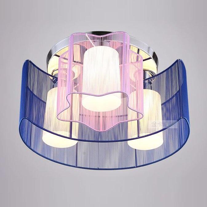 Moderne Kinder Schlafzimmer Mond Sterne Deckenleuchte Stoff Draht Darwing Arbeitszimmer Restaurant D