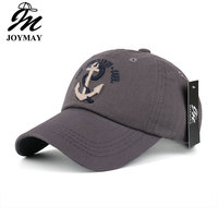 New Arrivals Cotton Gorras Anchor Baseball Cap Vintage Casual Hat Snapback Adjuatable Baseball Caps Brand New