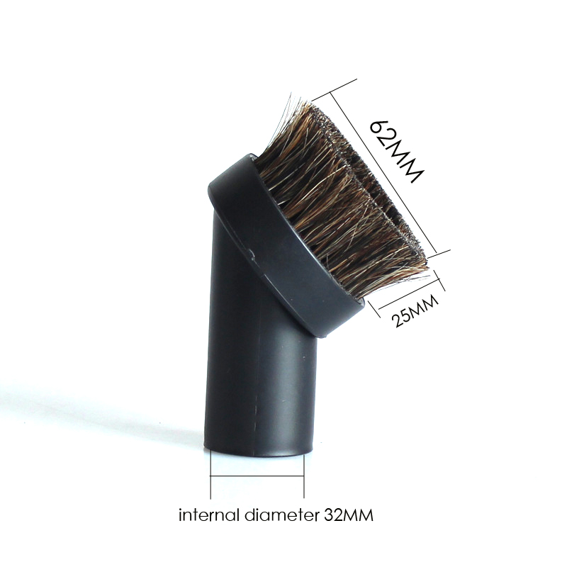 1pcs/lot Dusting Brush Head Dust Cleaning Tool Attachment For Vacuums Cleaner Parts 3pcs lot steam cleaner brush round brush with scraper attachment for karcher sc952 sc1020 sc1052 sc1122 sc1125 sc1402 etc