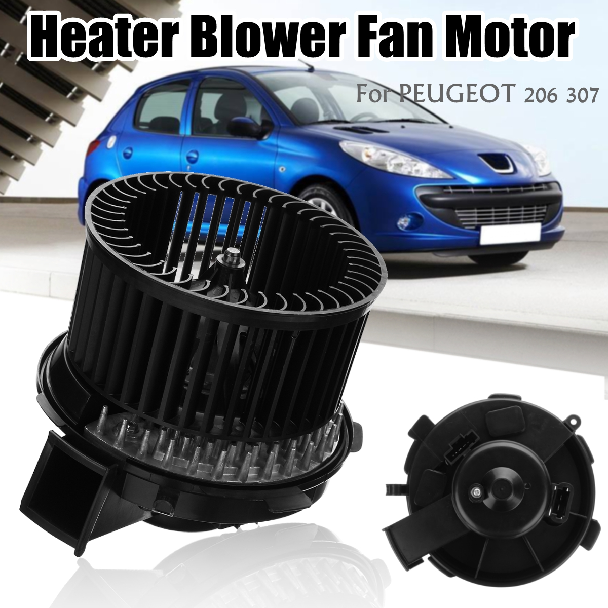 6441K0 12V Car Heater Blower Fan Motor With AIR CON for Peugeot 206 CC/SW 307  CC/SW-in Air-conditioning Installation from Automobiles & Motorcycles on ...