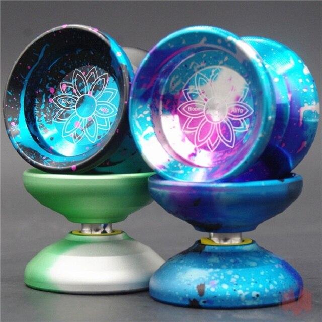 2017 nowy przyjeżdża ALIYO Bloom YOYO profesjonalne yo-yo CNC metalowe łożyska yoyo metalowa piłka darmowa wysyłka