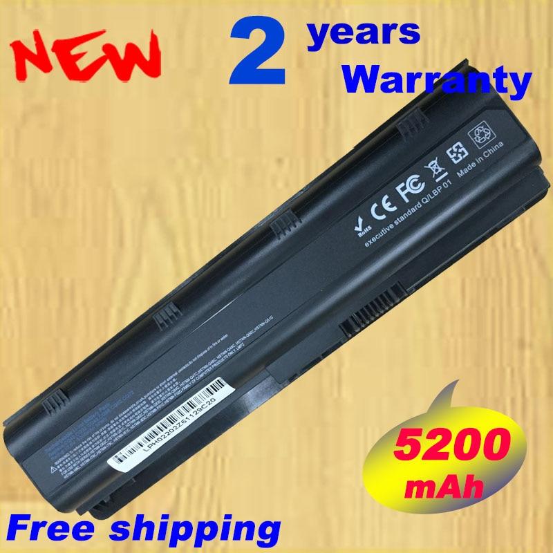 Batterie d'ordinateur portable pour HP MU06 pour Compaq Presario CQ32 CQ42 CQ43 CQ56 CQ62 CQ630 CQ72 pour Pavilion dm4 dv3 dv5 dv6 dv7 g4 g6 g7