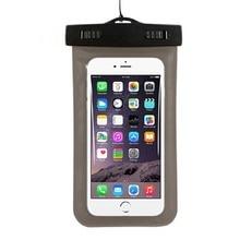 Universal Caja Del Teléfono Celular A Prueba de agua Bolso Seco Subacuático Bolsa Del Teléfono Móvil para el iphone Samsung Piscinas Casos Herramientas Al Aire Libre