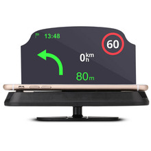 "Buy 6.0"" Head Up Display HUD Windshield Projector Self-adaptive Car Fuel Parameter Display Speeding Warning + Bracket directly from merchant!"