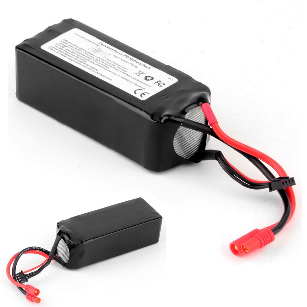 1pcs RC Lipo Battery 11.1V 5200Mah 20C 3S Lipo Battery For Walkera QRX350 PRO RC Drone Quadcopter Helicopter Dropship