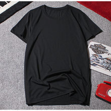 2019 hombres camisetas de manga corta de verano de talla grande gran camisetas de algodón 8XL 10XL 12XL casa camiseta azul marino camisetas 54 56 58 60 62 64 66 68