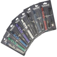 100pcs/lot cheap snoop dogg electronic cigarette kit snoop dogg dry Herb herbal vape wax vaporizer pen blister pack case wax