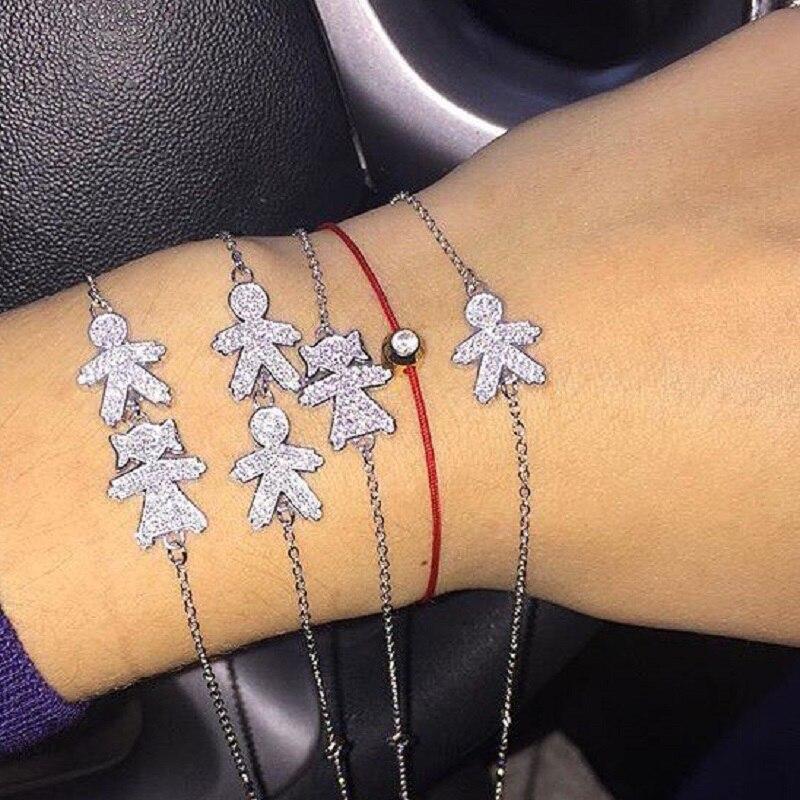 Bracelet de charme avec Cristal pour fem ...