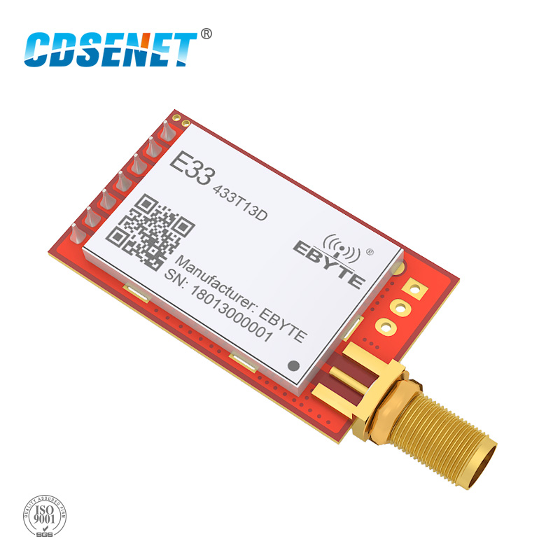 1pc SX1212 433MHz Wireless rf Module CDSENET  E33-TTL-20 SMA Female UART Transmitter and Receiver