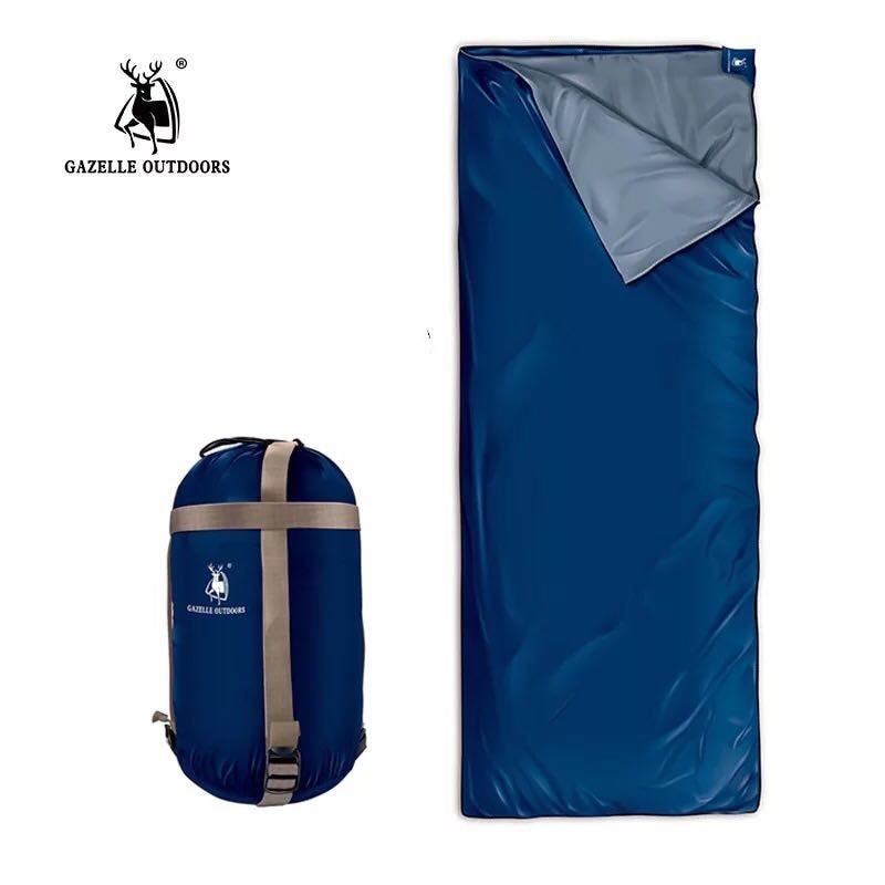 Large Outdoor Ultralight Envelope Sleeping Bag Camping Hiking Climbing Envelope Outdoor Camping Sleeping Bag Traveling Lazy Bag