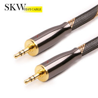 SKW 3.5 jack to 3.5 jack AUX Cable for Xiaomi smartphone tablet portable CD&MP3 player to a car stereo