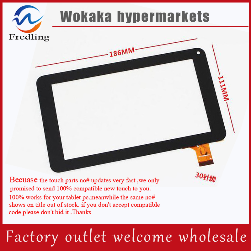 цена на New Touch Screen Panel Digitizer Glass Sensor Replacement For 7