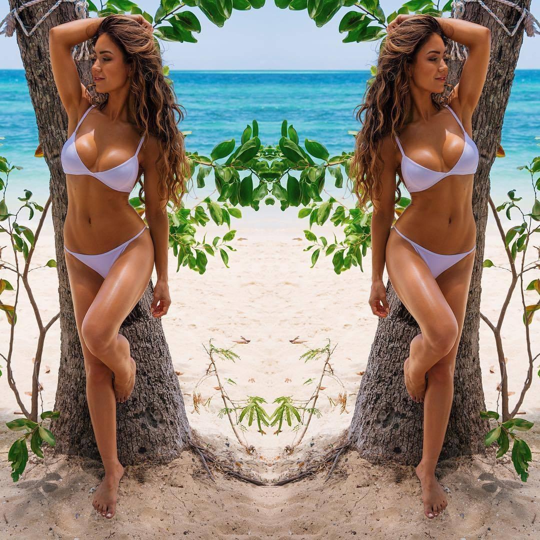 2018 sommer Frauen Hot Sexy Push-Up Bikini Set Solide Dünne Badeanzug Sling Bademode Bandeau Padded Bademode Zwei Stücke