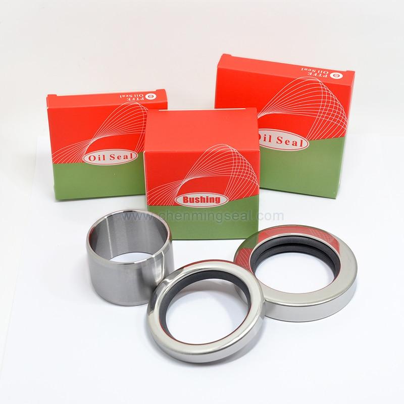 GHH Rand OS70 Repair Kit Screw Air Compressor Spare Parts 2pcs PTFE Oil Seal 1pc Shaft