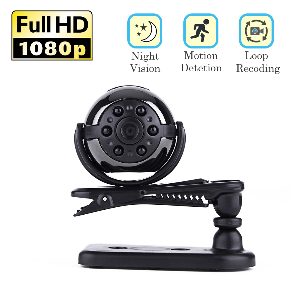 Mini Video Camera HD 1080P Small Secret Infrared Night Vision Recorder Camcorder Motion Detect Micro DV Sports Cam Car Recorder