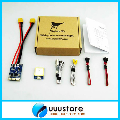 Skylark Trace OSD IV (With USB Cable) Barometer 10Hz GPS for FPV System RC Parts fpv s2 osd barometer version osd board read naza data phantom 2 iosd osd barometer with 8m gps module