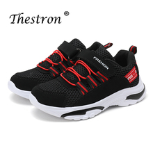 New Cool Casual Youth Boys Kids Shoes Air Mesh Breathable Children Trainers Size 28-40 Teenage Sneakers Big Summer