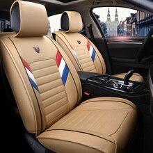 Neue Pu-leder Auto Universal Autositzbezüge für Toyota camry 40 50 corolla avensis 2017 2016 2015 2006 2007 kissenbezüge