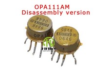 OPA111 Demolition product The original America BB company have  fever single operational amplifier  8 foot line amplifier op amp