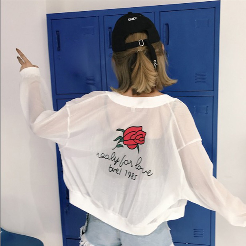 Sexy Floral Print   Basic     Jackets   Women Summer Casual Slim Bodycon Sweatshirt Plus Size Long Sleeve Baseball   Jackets