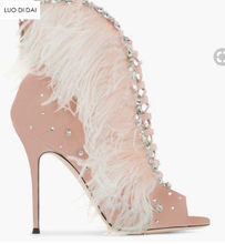 fa6aa1f48b78d Pink Heels with Feathers Promotion-Shop for Promotional Pink Heels ...