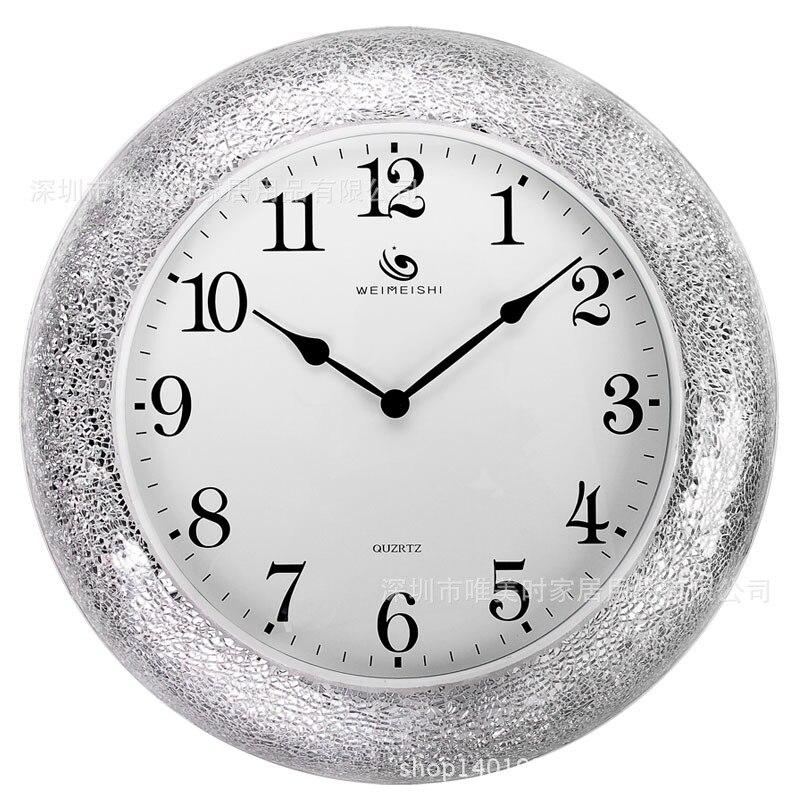 18inch Large Wall Clock Saat Clock Reloj Duvar Saati Horloge Murale